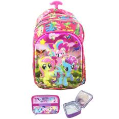 Ulasan Lengkap Tentang Bgc 6 Dimensi Bantalan Punggung My Little Pony 4 Kantung Tas Troley Anak Sd Import Lunch Bag Aluminium Tahan Panas Kotak Pensil Alat Tulis Full Motif Pony