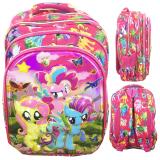 Harga Bgc 6 Dimensi Bantalan Punggung My Little Pony 4 Kantung Timbul Import Tas Ransel Anak Sekolah Sd Full Motif Pony Origin