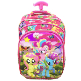 Beli Bgc 6 Dimensi Bantalan Punggung My Little Pony 4 Kantung Timbul Import Tas Troley Anak Sekolah Sd Full Motif Pony Banten