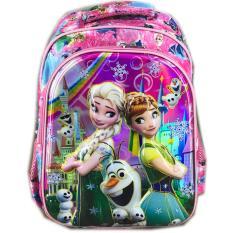 BGC 6 Dimensi Frozen Fever Tas Ransel Anak Sekolah SD IMPORT - Full Motif Frozen