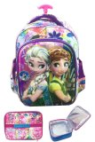 Review Bgc 6 Dimensi Hologram Frozen Fever Anti Gores Hologram 2 Kantung Tas Troley Anak Tk Import Lunch Bag Aluminium Tahan Panas Full Motif Frozen