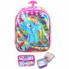 Harga Bgc 6 Dimensi My Little Pony Import Tas Troley Anak Sekolah Pg Lunch Bag Aluminium Tahan Panas Full Motif Pony Merk Bgc