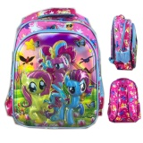 Harga Bgc 6 Dimensi My Little Pony Tas Ransel Anak Sekolah Sd Import Full Motif Pony Bgc Banten