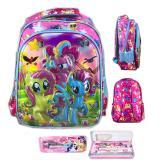 Review Tentang Bgc 6 Dimensi My Little Pony Tas Ransel Anak Sekolah Sd Import Kotak Pensil Alat Tulis Full Motif Pony