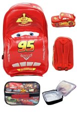 Harga Bgc Disney Cars 3D Lightning Mcqueen On The Road Lunch Bag Aluminium Tahan Panas Paling Murah