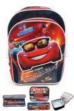 Toko Bgc Disney Cars Lightning Mc Queen 3D Timbul Bahan Saten Berkualitas Tas Ransel Anak Sekolah Sd Lunch Bag Aluminium Tahan Panas Kotak Pensil Alat Tulis Termurah Di Banten