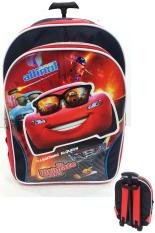 Beli Bgc Disney Cars Lightning Mc Queen 3D Timbul Bahan Saten Berkualitas Tas Troley Anak Sekolah Sd Bgc