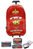 Jual Bgc Disney Cars Tas Troley 3D Lightning Mcqueen On The Road Lunch Bag Aluminium Tahan Panas Kotak Pensil Alat Tulis Original