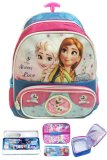 Toko Bgc Disney Frozen Fever 3D Timbul 2 Kantung Tas Troley Sekolah Anak Tk Lunch Bag Aluminium Tahan Panas Kotak Pensil Alat Tulis Online Di Banten