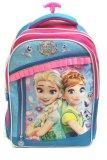 Kualitas Bgc Disney Frozen Fever Elsa Anna 3 Kantung Renda Full Sateen Import Tas Troley Sekolah Anak Sd Bgc