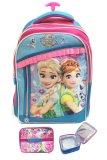 Review Tentang Bgc Disney Frozen Fever Elsa Anna 3 Kantung Renda Full Sateen Import Tas Troley Sekolah Anak Sd Lunch Bag Aluminium Tahan Panas