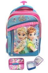 Jual Beli Bgc Disney Frozen Fever Elsa Anna 3 Kantung Renda Full Sateen Import Tas Troley Sekolah Anak Sd Lunch Bag Aluminium Tahan Panas Di Banten