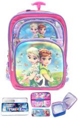 Harga Bgc Disney Frozen Fever Elsa Anna 5 Dimensi Hologram Butterfly Gambar Rubah Rubah Tas Troley Anak Sekolah Sd Lunch Bag Aluminium Tahan Panas Kotak Pensil Alat Tulis Murah