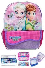 Toko Bgc Disney Frozen Fever Elsa Anna Kantung Depan Tas Ransel Anak Sekolah Tk Lunch Bag Aluminium Tahan Panas Import Timbul Kotak Pensil Alat Tulis Purple Pink Online