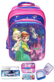 Ulasan Bgc Disney Frozen Fever Elsa Anna Olaf Can Dance 5D 4 Kantung Tas Ransel Anak Sekolah Sd Set Dengan Lunch Bag Aluminium Tahan Panas Import Timbul Kotak Pensil Alat Tulis Fire Works
