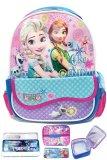 Review Tentang Bgc Disney Frozen Fever Kantung Depan Import Tas Ransel Sekolah Anak Tk Lunch Bag Aluminium Tahan Panas Kotak Pensil Alat Tulis Blue Purple