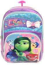 Jual Bgc Disney Inside Out Tas Troley Anak Sekolah Sd Purple Blue Pink Pita Bgc