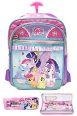 Spesifikasi Bgc Disney My Little Pony Pinkie Best Friends 3 Kantung Tas Troley Sekolah Anak Sekolah Tk Kotak Pensil Alat Tulis Purple Pink Green 2 Beserta Harganya
