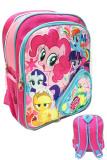 Beli Bgc Disney My Little Pony Pinkie Best Friends Full Sateen Import 3 Kantung Tas Ransel Anak Sekolah Tk Online Murah