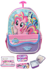 Review Bgc Disney My Little Pony Pinkie Best Friends Kantung Depan Tas Troley Sekolah Anak Sekolah Tk Lunch Bag Aluminium Tahan Panas Kotak Pensil Alat Tulis Bgc Di Banten