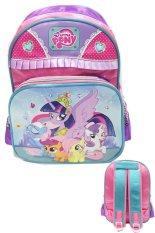 BGC Disney My Little Pony Pinkie Best Friends Love Renda 2 Kantung Tas Ransel Sekolah Anak