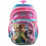 Bgc Frozen Fever Elsa Anna 3 Kantung Full Sateen Import Tas Troley Anak Sekolah Sd Terbaru