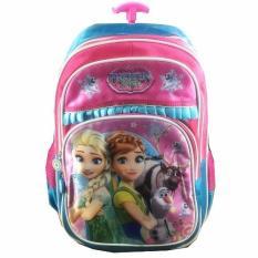 Spesifikasi Bgc Frozen Fever Elsa Anna 3 Kantung Full Sateen Import Tas Troley Anak Sekolah Sd