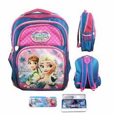 Toko Bgc Frozen Fevertas Ransel Anak Sekolah Sd Kotak Pensil Alat Tulis Blue Pink Prada Online
