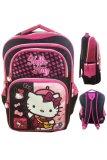 Beli Bgc Hello Kitty 4 Kantung Import Tas Ransel Anak Sekolah Sd Black Pink Prada Kredit