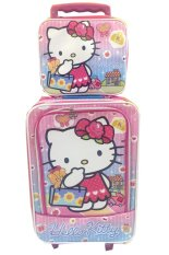 Beli Bgc Hello Kitty Koper Set Lunch Bag Bahan Sponge Anti Air Pake Kartu Kredit