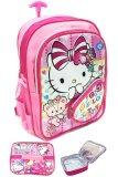 Beli Bgc Hello Kitty Love 3 Kantung Depan Full Sateen Import Tas Troley Sekolah Anak Tk Lunch Bag Aluminium Tahan Panas Banten