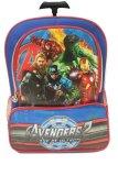 Dapatkan Segera Bgc Marvel Avenger Captain America Iron Man Tas Troley Sekolah Anak Sd 3 Kantung