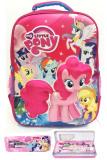 Promo Bgc My Little Pony 3D Boneka Timbul Hard Cover Tas Ransel Sekolah Anak Sd Kotak Pensil Alat Tulis Bgc Terbaru