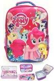 Toko Bgc My Little Pony 3D Boneka Timbul Hard Cover Tas Ransel Sekolah Anak Sd Lunch Bag Aluminium Tahan Panas Kotak Pensil Alat Tulis Terlengkap