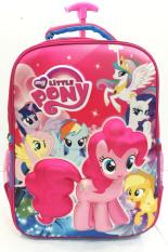 Promo Bgc My Little Pony 3D Boneka Timbul Hard Cover Tas Troley Sekolah Anak Sd Di Banten
