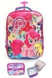 Promo Bgc My Little Pony 3D Boneka Timbul Hard Cover Tas Troley Sekolah Anak Sd Lunch Bag Aluminium Tahan Panas Bgc