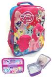 Harga Bgc My Little Pony 3D Bonekatimbul Hard Cover Tas Ransel Sekolah Anak Sd Lunch Bag Aluminium Tahan Panas Bgc Ori