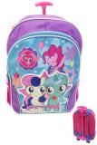 Harga Bgc My Little Pony 3D Timbul Bahan Saten Berkualitas Tas Troley Anak Sekolah Sd Terbaik