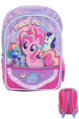 Spesifikasi Bgc My Little Pony Bahan Saten Berkualitas Tas Ransel Anak Sekolah Sd Purple Renda