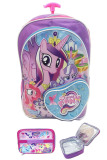Toko Bgc My Little Pony Love Bahan Saten Berkualitas Tas Troley Anak Sekolah Sd Lunch Bag Aluminium Tahan Panas Purple Love Bgc Online