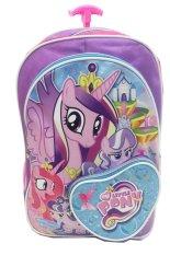 Promo Bgc My Little Pony Love Bahan Saten Berkualitas Tas Troley Anak Sekolah Sd Purple Love Murah