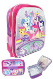 Jual Bgc My Little Pony Pinkie Best Friends Pita 2 Tas Ransel Anak Sekolah Sd Lunch Bag Aluminium Tahan Panas Branded Original