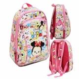 Promo Bgc Tas Ransel Sekolah Anak Pg Play Group Tsum Tsum Mickey Minnie Mouse Full Motif Tsum Tsum Murah