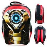 Diskon Bgc Tas Ransel Sekolah Anak Sd Iron Man Mark47Otot 3D Timbul Blue Red Bgc Di Banten