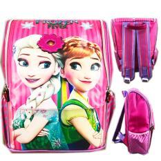 Diskon Produk Bgc Tas Ransel Sekolah Anak Tk Frozen Elsa Ribbon 3D Timbul Full Motif Snow