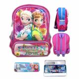 Diskon Bgc Tas Ransel Sekolah Anak Tk Frozen Fever 3D Timbul Hard Cover Kotak Pensil Alat Tulis Bgc Di Banten