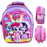 Harga Bgc Tas Ransel Sekolah Anak Tk My Little Pony 3D Timbul Full Motif Pony Asli