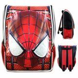 Jual Bgc Tas Ransel Sekolah Anak Tk Spiderman Muka 3D Timbul Full Motif Spider Antik