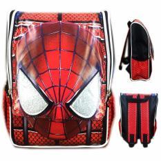Harga Bgc Tas Ransel Sekolah Anak Tk Spiderman Muka 3D Timbul Full Motif Spider Dan Spesifikasinya