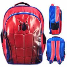 Harga Bgc Tas Ransel Sekolah Anak Tk Spiderman Ultimateotot 3D Timbul Blue Red Baru Murah
